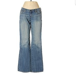 Abercrombie & Fitch Flared Leg Cut Jeans